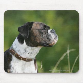 Boxer Dog Profile Mouse Pad