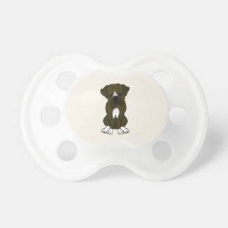 Boxer Dog Puppy Baby Pacifiers