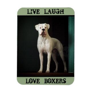 Boxer Dog Refrigerator Magnet