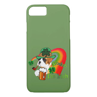 Boxer Dog St Patrick's Day iPhone 8/7 Case