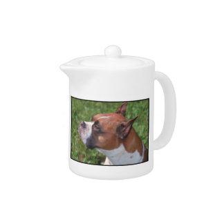 Boxer Dog Teapot