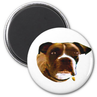 Boxer Dog The MUSEUM Zazzle Gifts Magnets