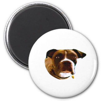 Boxer Dog The MUSEUM Zazzle Gifts Refrigerator Magnets