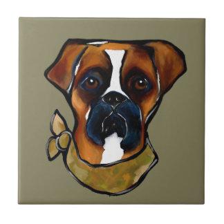 Boxer Dog Tile