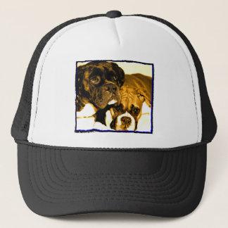 Boxer friends hat
