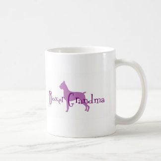 Boxer Grandma Coffee Mug