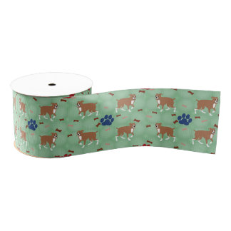 Boxer Grosgrain Ribbon