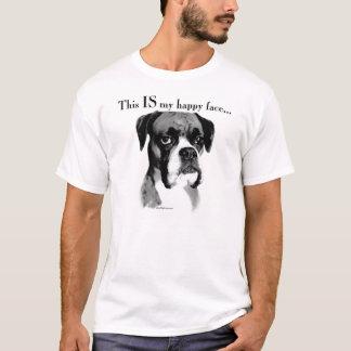 Boxer Happy Face T-Shirt