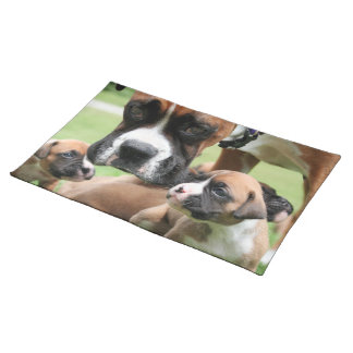 Boxer - Helicopter Mom Placemats