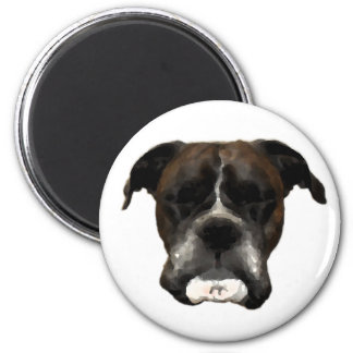 Boxer Refrigerator Magnets