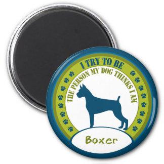 Boxer Refrigerator Magnet