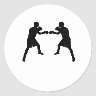 Boxer Mirror Image Sticker