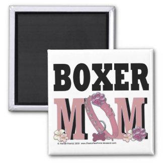 Boxer MOM Refrigerator Magnet