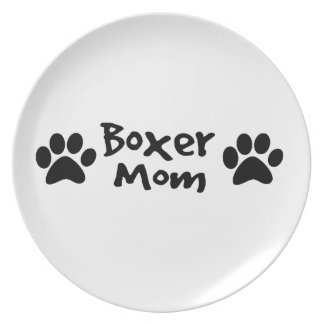 boxer mom plate