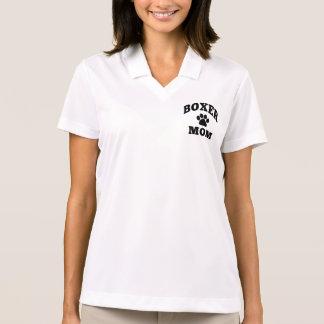 Boxer mom polo shirt