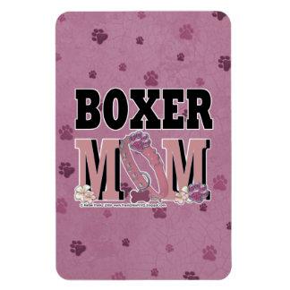 Boxer MOM Rectangular Magnet