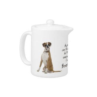 Boxer Mom Teapot