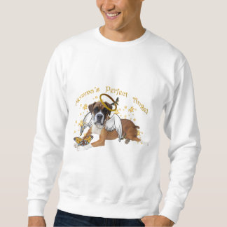 Boxer Momma's Angel apparel and gifts Sweatshirt