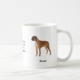 Boxer Mug - With two images and a motif