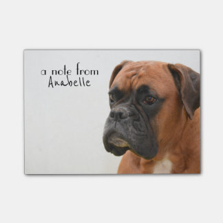 Boxer Note Pad