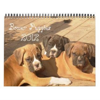 Boxer Puppies 2012 Calendar
