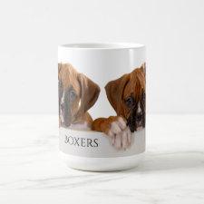 Boxer Puppies Coffee Mug