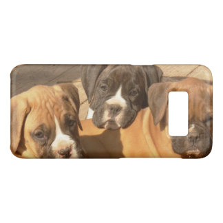 Boxer puppies Samsung S8 Barely There Case