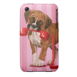 Boxer Puppy Case-Mate iPhone 3 Cases