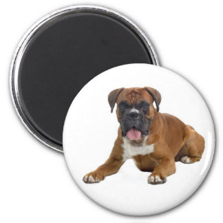 Boxer Puppy Dog Fridge Magnet