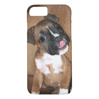 Boxer puppy iPhone 8 cases