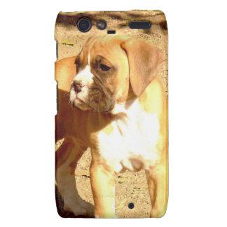 Boxer puppy Motorola Droid Razr phone case Motorola Droid RAZR Cover