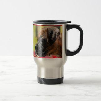 Boxer Puppy travel mug
