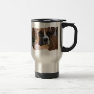 Boxer Rescue Stainless Steel Travel Mug