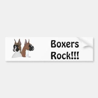 Boxer ROCK!!! Bumper Sticker