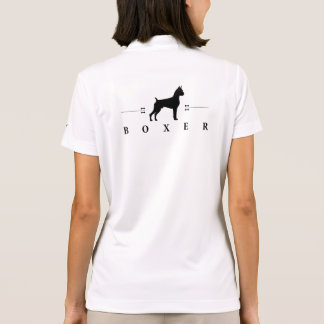 Boxer silhouette -2- polo t-shirts