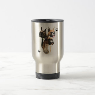 Boxer Trio Travel Mug