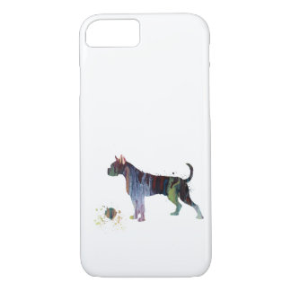 Boxer with toy iPhone 8/7 case