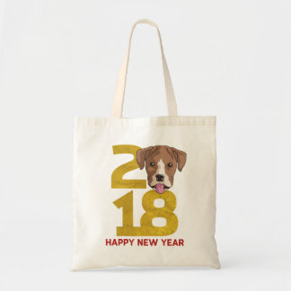 Boxer Year of the Dog 2018 New Year Bag