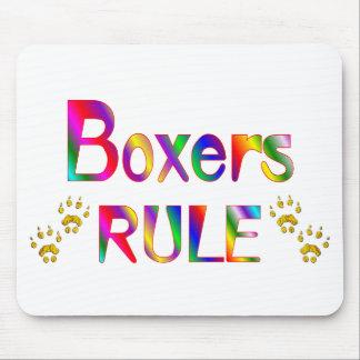 Boxers Rule Mouse Mats