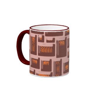 Boxes Art Ringer Mug