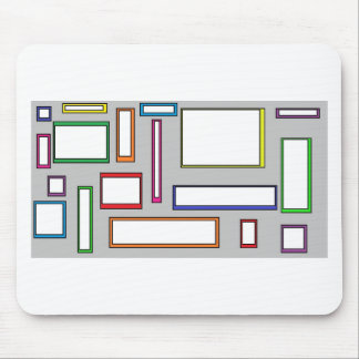 boxes mouse pad