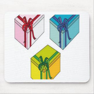 Boxes vectors design mouse pads