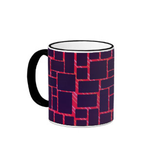 Boxes With Red Back Ringer Mug
