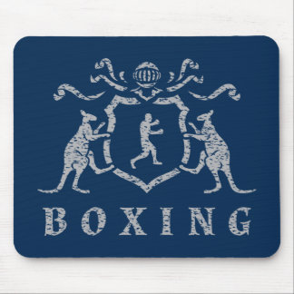 Boxing Blazon Mousepad
