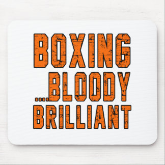 Boxing Bloody brilliant Mousepads