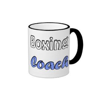 Boxing coach ringer mug