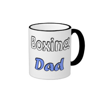 Boxing Dad Ringer Mug