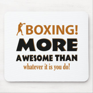 BOXING DESIGN MOUSE PAD