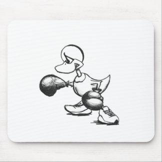 Boxing Duck - Pen Mouse Pad