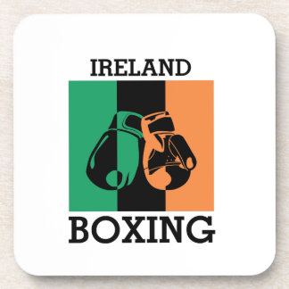 Boxing Fans Gift For Boxing Irish Mma Boxing Coaster